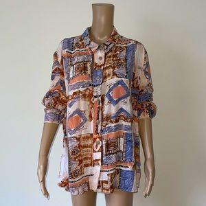 VINTAGE | 80s oversized shirt